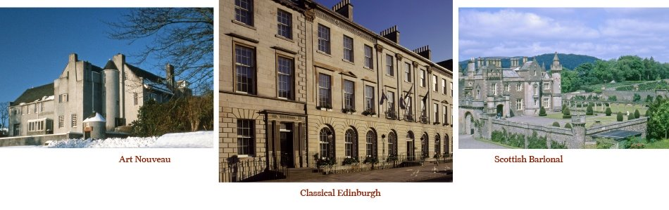 Scottish property magazine residential architectural for Current architectural styles